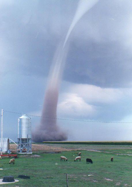 One Huge Tornado Scott City, Kansas. We went through two tornados while we were here!