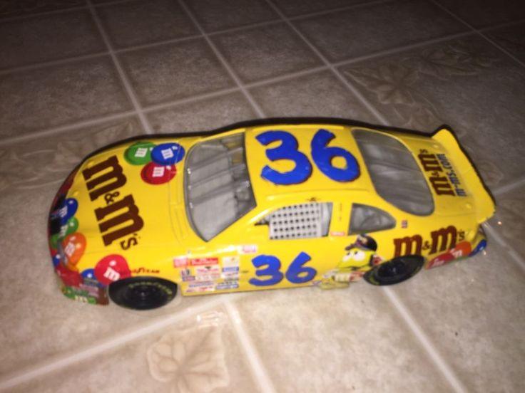 ERNIE IRVAN 1998 M&M'S Grand Prix Pontiac 1/24 Hot Wheels DIECAST CAR #Mattel #Pontiac