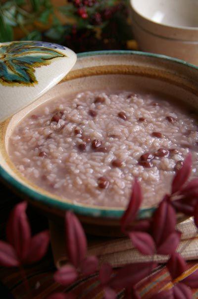 小豆粥のレシピ 簡単なあずき粥の作り方とおかゆのコツ 圧力鍋があれば楽ちん、なくてもだいじょうぶ!