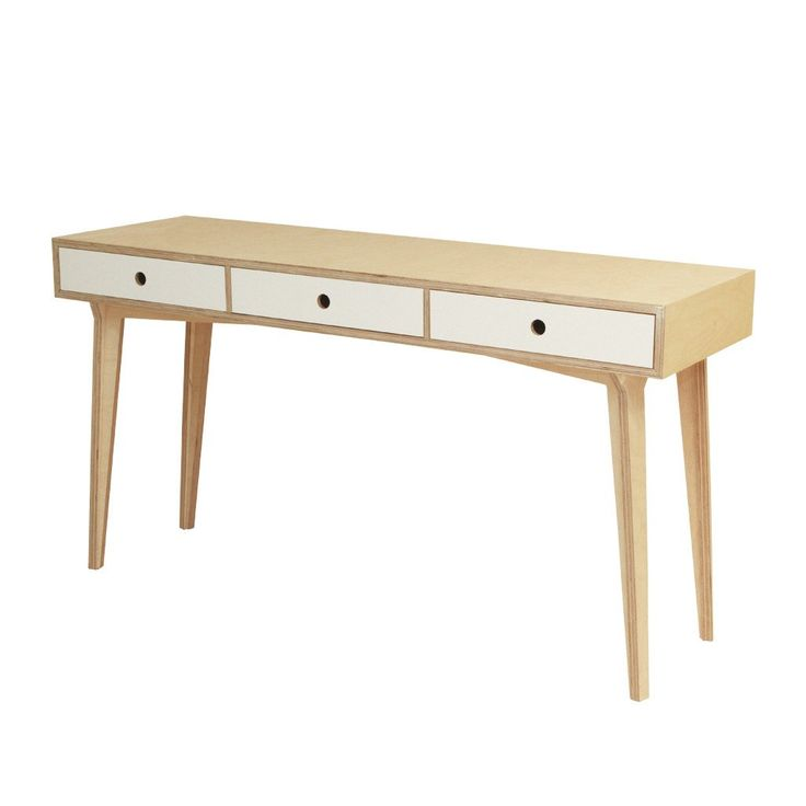 The distinctive round top of this table supported by pointed legs creates a focal point that will add style to any living room. Birch wood legs and formica top.
