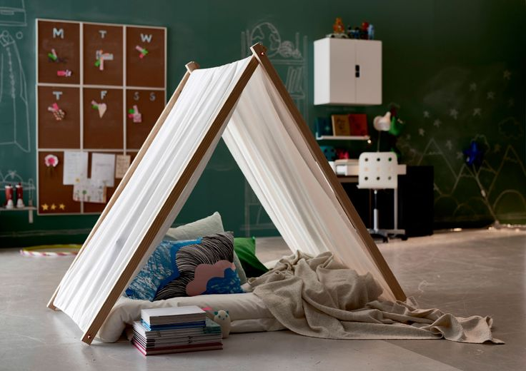 We like this cosy indoor tipi so much we got our interior designer to tell us how it's made (it's easier than you might think!).