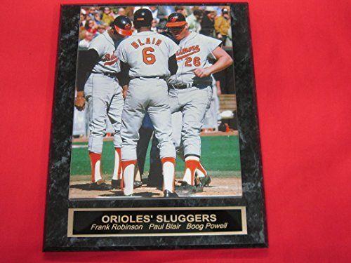Paul Blair Baltimore Orioles Plaque