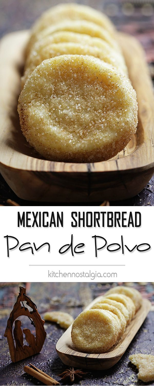 Pan de Polvo - buttery, crumbly, melt in your mouth Mexican shortbread biscuits.