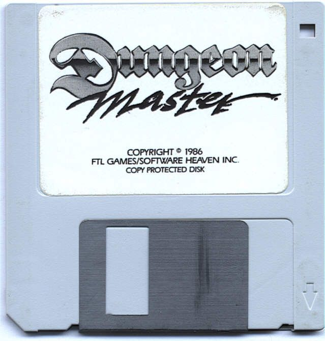 Dungeon Master for Atari ST - Disk