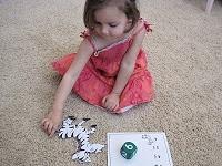 Letter Z: Zebra puzzle game