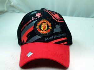FC MANCHESTER UNITED OFFICIAL TEAM LOGO CAP / HAT - MU012 by Tripact Inc. $15.95