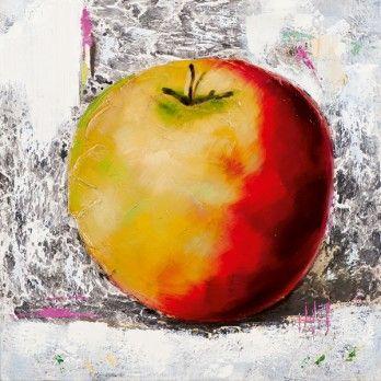 schilderij Appel 60x60