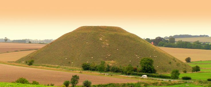 Silbury Hill, Long Kennet Barrow, Avebury, Wiltshire, UK.  Travels featured in the Campervan Capers books/blog by Alannah Foley.