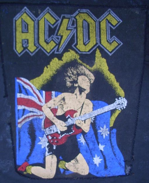 acdc collection personal vintage patch