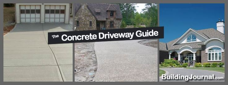 Concrete Driveway Cost Calculator | How Much does a Concrete Driveway Cost | Concrete Driveway Guide