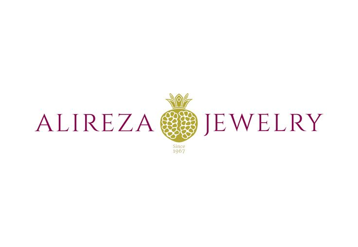 Alireza Jewelry - Logo Design   |  https://www.behance.net/rasam