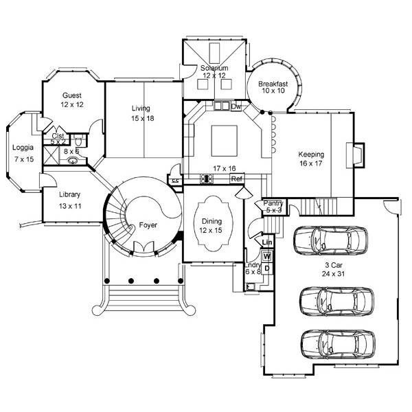 The House Designers Thd 8216 Builder Ready Blueprints To Build A European House Plan With Basement Foundation 5 Printed Sets Walmart Com In 2021 Basement House Plans House Plans European House Plan