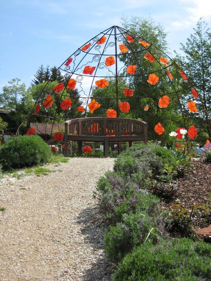 Arnbruck, Glaskunst im Park (2)