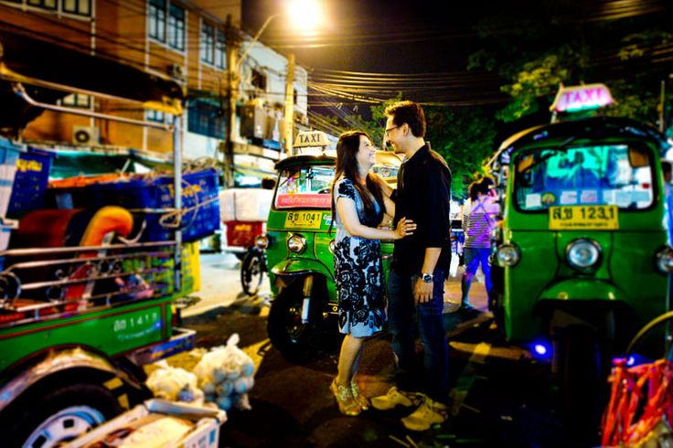Preview: Pre-Wedding at Flower Market in Bangkok Thailand
