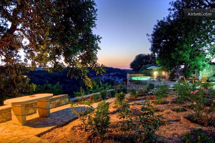 Villa Nikolaos - Peaceful Garden in Eleftherna, Crete - Greece