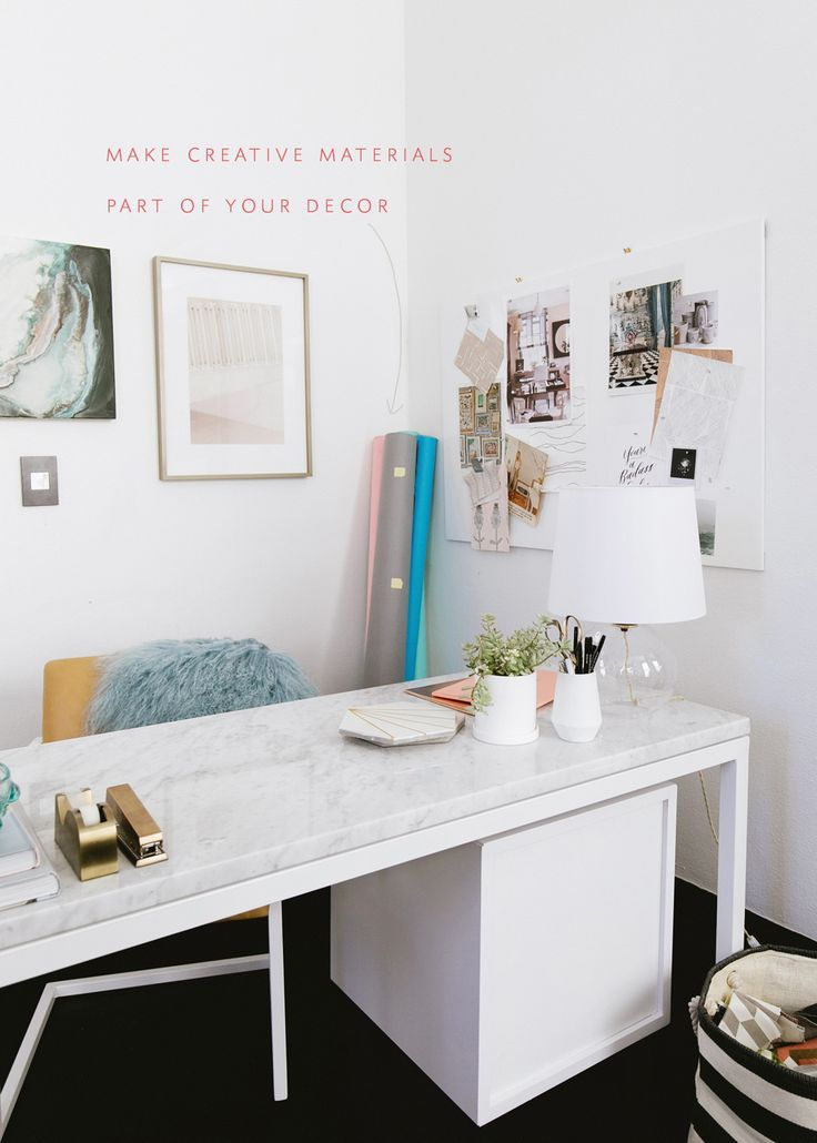 Tips For Designing A Creative Office Tackling Small Space