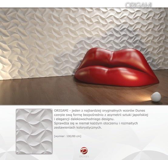 Decorative panel - ORIGAMI