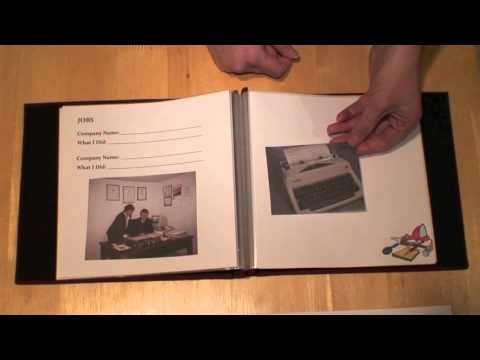 A Life Story Book for Reminiscence with #Alzheimer's.