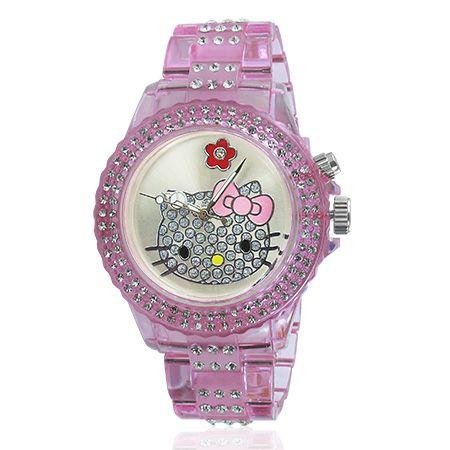 Női divat Hello Kitty karóra