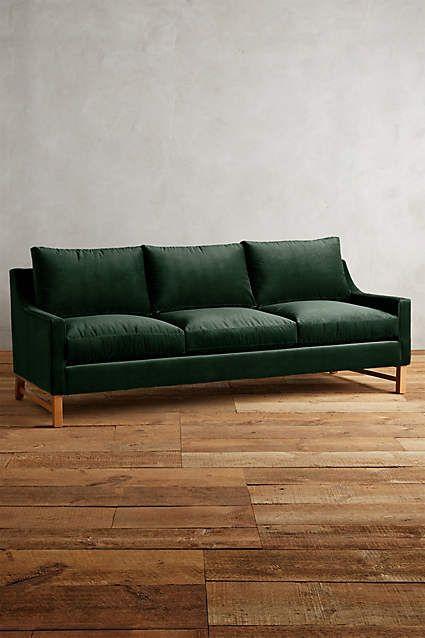 Velvet Dorada Sofa - anthropologie.com