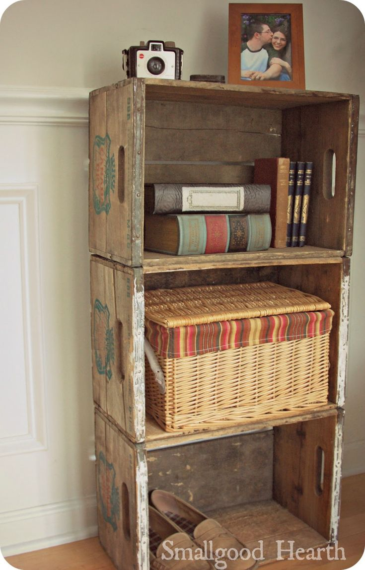 1000+ ideas about Crate Shelving on Pinterest | Crate ...