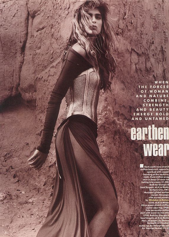 whitaker-malem-fashion-herb-ritts-formed-woven-leather-bustier-vogue-magazine | Flickr - Photo Sharing!