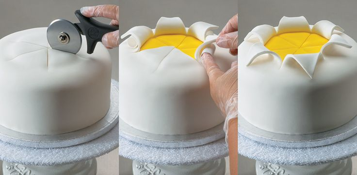 Explosie taart.