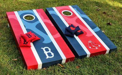 Boston Red Sox Cornhole Boards & Bags!