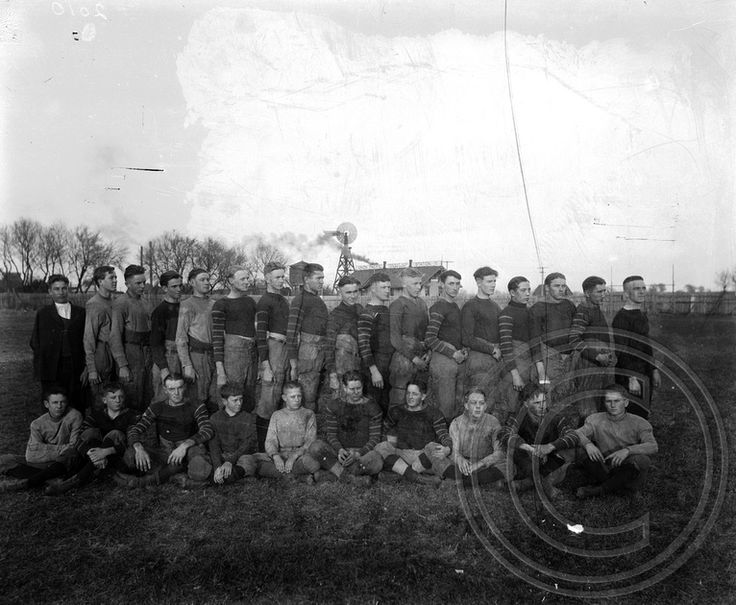 Wahoo High School football team, 1921