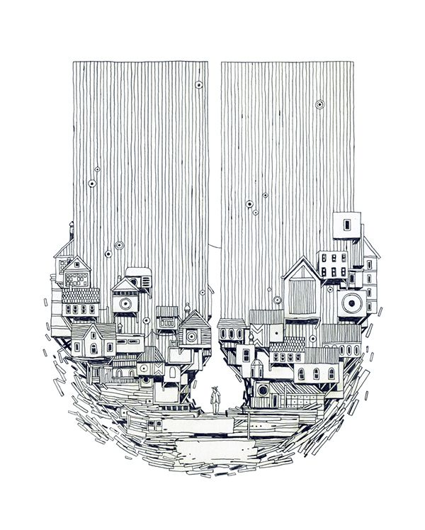 Book Covers (2) by Jon Juarez San Sebastián, Spain on Behance | Illustration | Drawing |