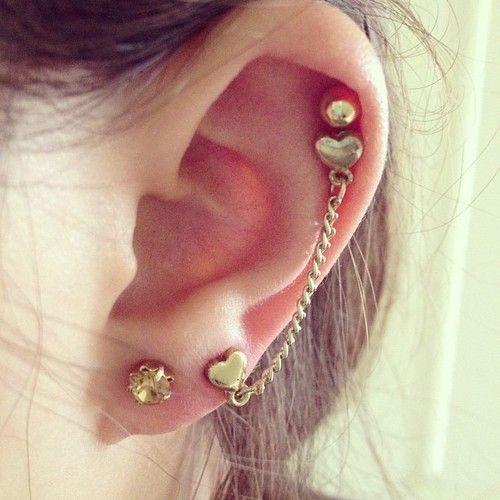 Hot cartilage piercing earrings #cartilage #earrings www ... Ear Piercing Jewelry