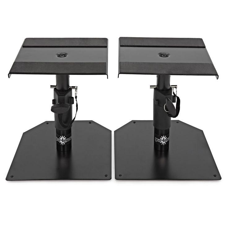 Monitor Speaker Stand Desk