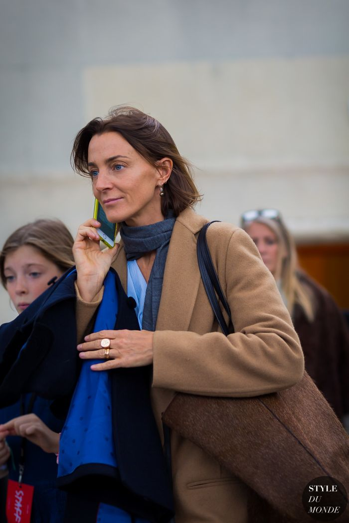 Phoebe Philo Street Style Street Fashion Streetsnaps by STYLEDUMONDE Street Style Fashion Photography