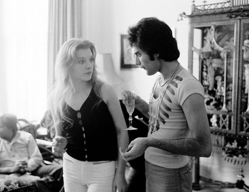 Freddie Mercury with girlfriend Mary Austin at their flat, London, 1977. When Freddie died in 1991, he left most of his estate to Mary, including his beautiful home, Garden Lodge, where Mary still lives today. She is divorced and has two adult sons. She has said that she wished she had died before Freddie, as it has been difficult living without him.