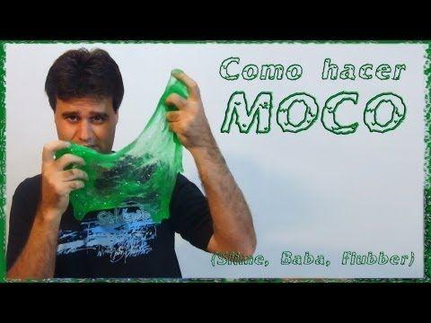 Como hacer Moco (Slime, Baba,Flubber, Limo) - YouTube