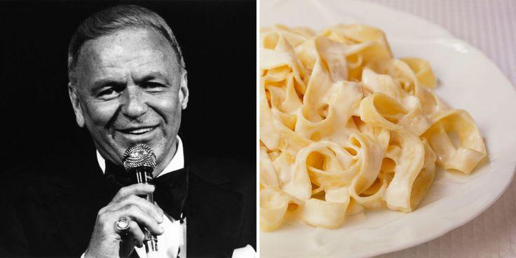 frank sinatra's fettuccine pasta recipe   countryliving.com