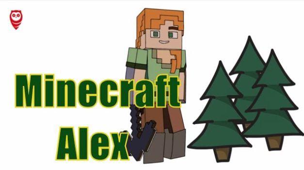 Minecraft Alex Egitici Boyama Ve Renkleri Ogrenme Sayfasi Eglenceli Nasil Yapilir Minecraft Renkler Boyama Sayfalari