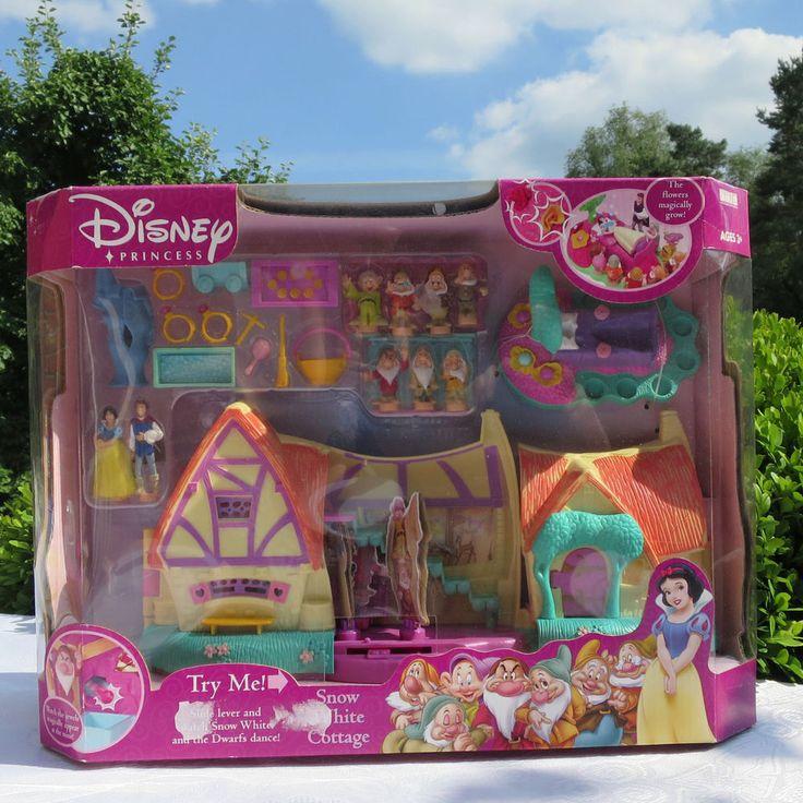 Polly Pocket Mini Disney Großes Schneewittchen Haus Snow White NEW MOC NEU OVP