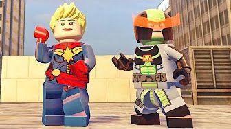 Lego Marvel Vingadores #25: Passagem Secreta em Washington DC - Xbox One Gameplay - YouTube