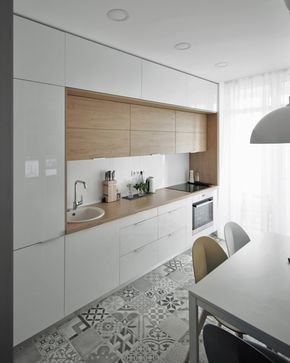 d4305fb140a4 Apartament w Kijowie. Tak mieszkają młodzi Ukraińcy •   house in 2019    Pinterest   Cucine moderne, Arredamento and Cucine