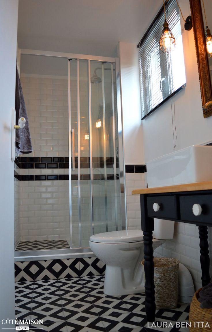 les 25 meilleures id es de la cat gorie salle de bain 4m2 sur pinterest petites salles. Black Bedroom Furniture Sets. Home Design Ideas