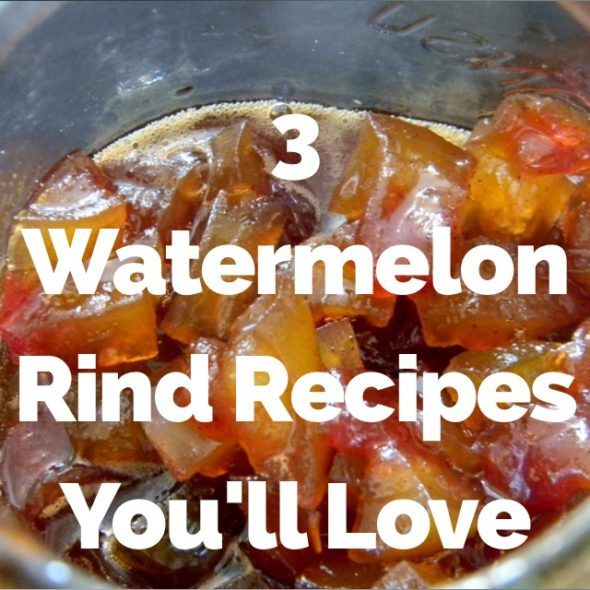 3 totally easy watermelon rind recipes including a chef-delevoped, simple recipe for pickled watermelon rinds and the best tart smoothie ever.