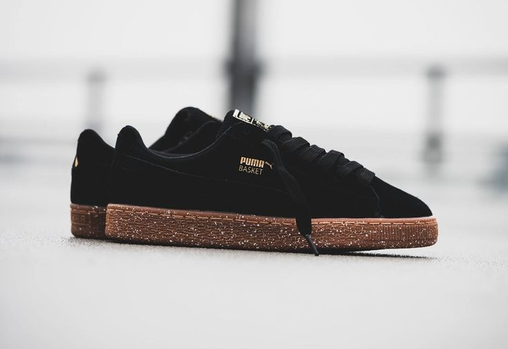 Careaux x Puma Wmns Basket Suede Black 'Speckled Midsole'