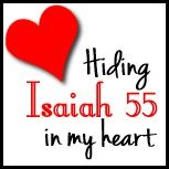 Resources and tips for memorizing Isaiah 55