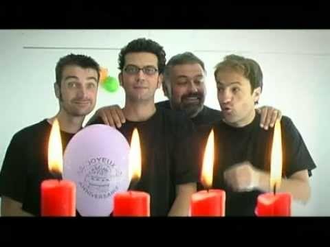 """▶ Les Frères Brothers chantent """"Joyeux anniversaire"""" - YouTube"""