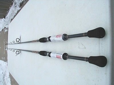 2 SHAKESPEARE UGLY STIK INSHORE 7' MEDIUM SPINNING RODS-NEW