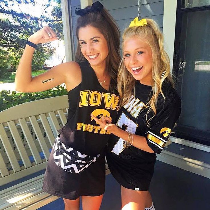 Saturday Night: Show your school spirit by wearing school branded clothing – Football