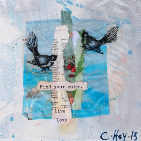 Find your voice,by Claire Hey