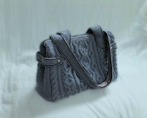 МК вязаная сумка Ирэн