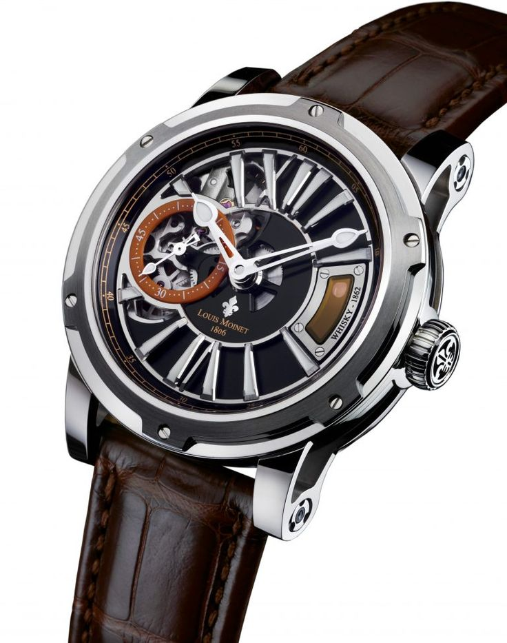 Rare Old Vatted Glenlivet 1862 Sealed Inside The Whiskey Watch by Louis Moinet, Wealth Solutions